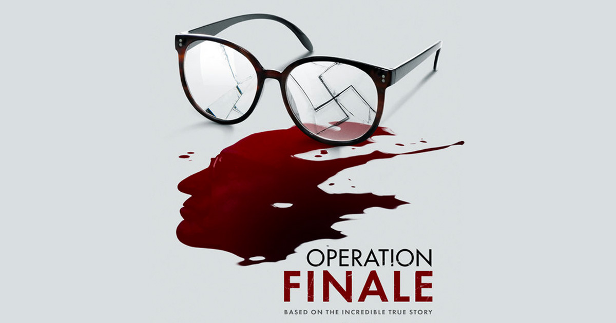"In theaters now - ""Operation Finale"" directed by Chris Weitz."