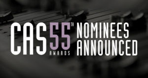 "Jason Ruder nominated for CAS Awards on ""A Star is Born!"""