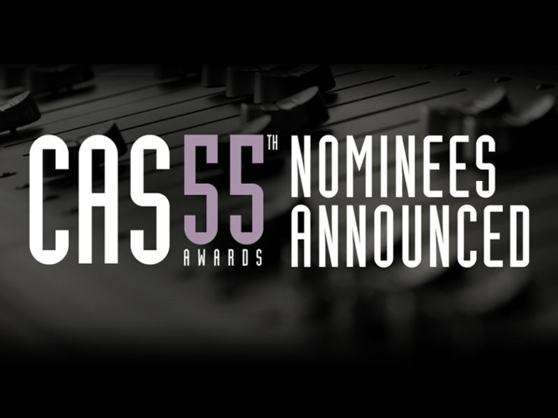 """Jason Ruder nominated for CAS Awards on """"A Star is Born!"""""""