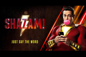 """Shazam!"" now in theaters Friday!"