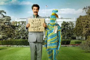 """""""Borat Subsequent Moviefilm"""" streaming today (10/23) on AMAZON Prime!"""